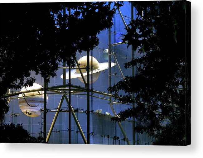 Nyc Acrylic Print featuring the photograph Planets in the Park by John Banegas