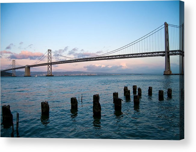 San Francisco Acrylic Print featuring the photograph San Francisco Bay Bridge by Mandy Wiltse