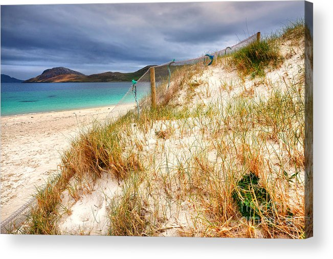 Vatersay Acrylic Print featuring the photograph Vatersay by Smart Aviation