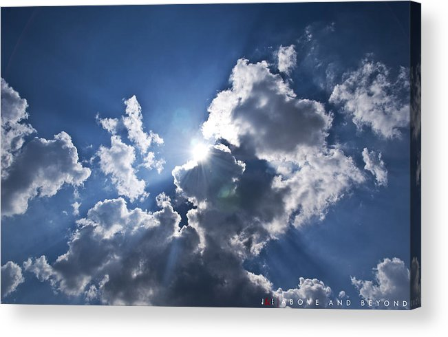 Sky Acrylic Print featuring the photograph Above and Beyond by Jonathan Ellis Keys