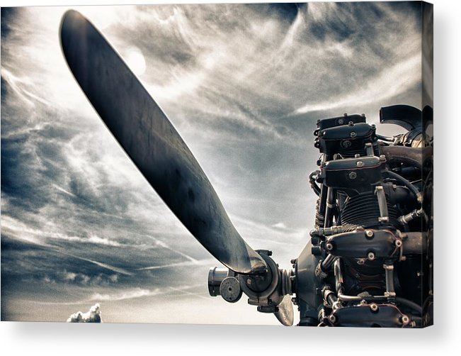 Airplane Acrylic Print featuring the photograph Aero Machine by Nathan Larson