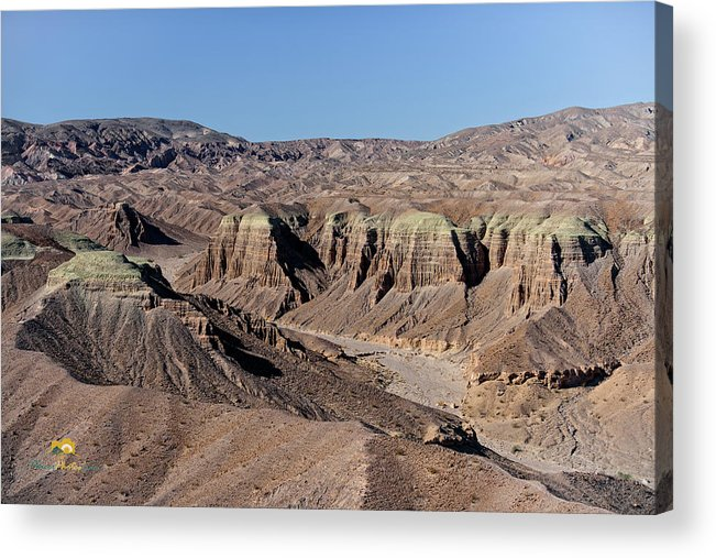 Aerial Shots Acrylic Print featuring the photograph Afton Canyon by Jim Thompson