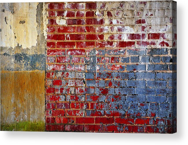 Skip Hunt Acrylic Print featuring the photograph America by Skip Hunt