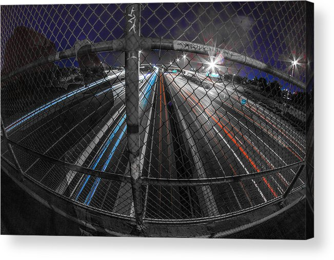 Acrylic Print featuring the photograph American Highway by Kyle Field