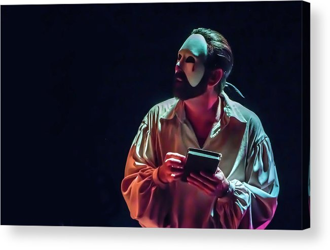 Live Theater Acrylic Print featuring the photograph American Phantom by Alan D Smith