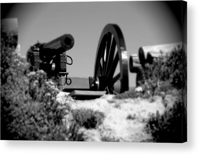Lunette Acrylic Print featuring the photograph Artillery Lunette by Jean Macaluso