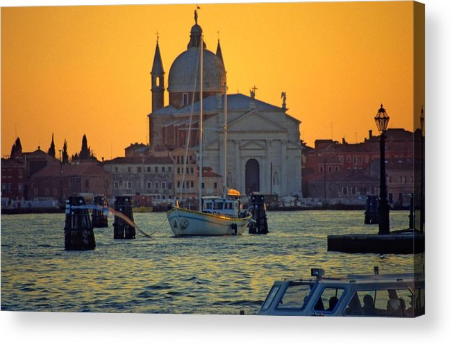 Venice Acrylic Print featuring the photograph Church of the Redentore in Venice by Michael Henderson