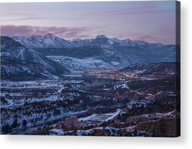 Downtown Durango at Twilight by Jen Manganello