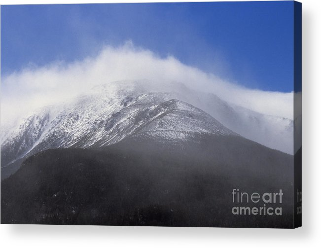 Hike Acrylic Print featuring the photograph Eastern Slopes of Mount Washington New Hampshire USA by Erin Paul Donovan