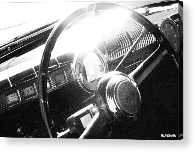 Ford Acrylic Print featuring the photograph Ford Super Deluxe by Al Blackford