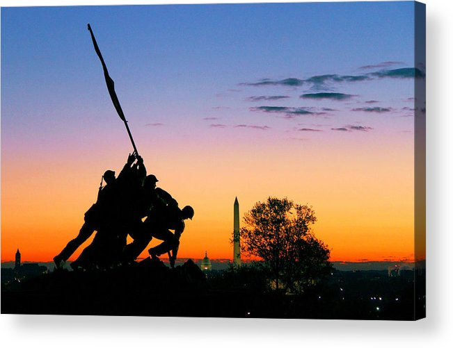 Dawn Acrylic Print featuring the photograph Hopeful as the Dawn by Mitch Cat