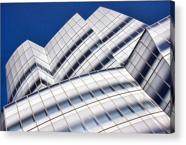 Architecture Acrylic Print featuring the photograph Iac Building by June Marie Sobrito