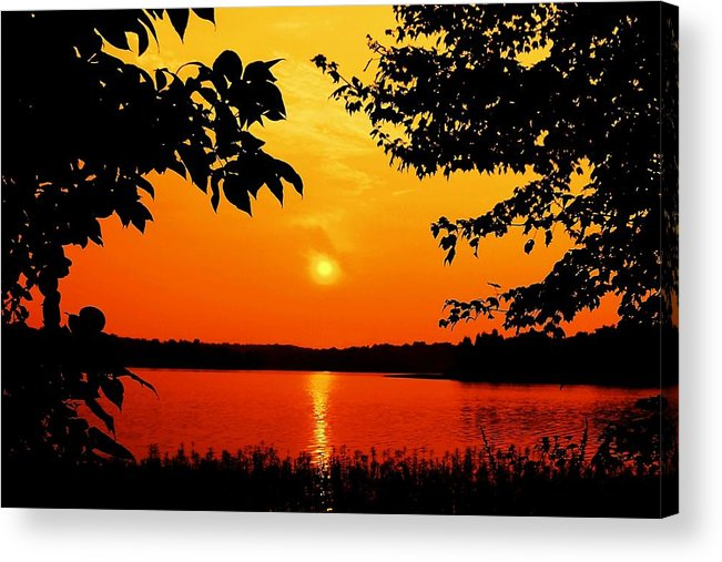 Landscape Acrylic Print featuring the photograph Indelible Impression by Mitch Cat