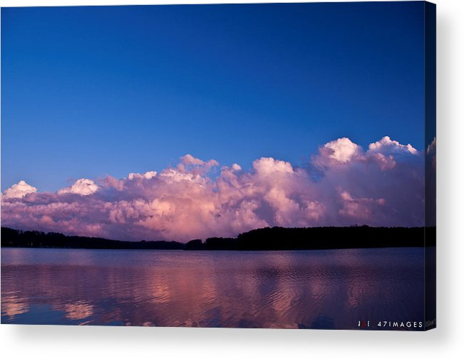 Sky Acrylic Print featuring the photograph Lake Sky by Jonathan Ellis Keys