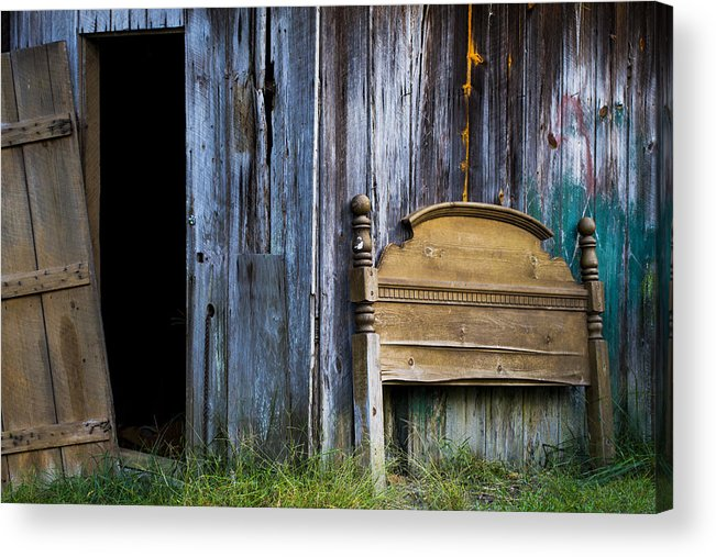 Rural Acrylic Print featuring the photograph Left Behind by Keith May