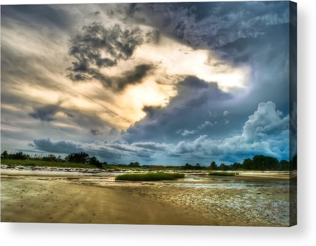 Beach Acrylic Print featuring the photograph Majestic Sky by Rich Leighton