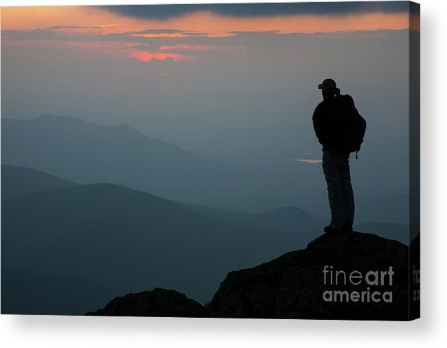 Adventure Acrylic Print featuring the photograph Mount Clay Sunset - White Mountains, New Hampshire by Erin Paul Donovan