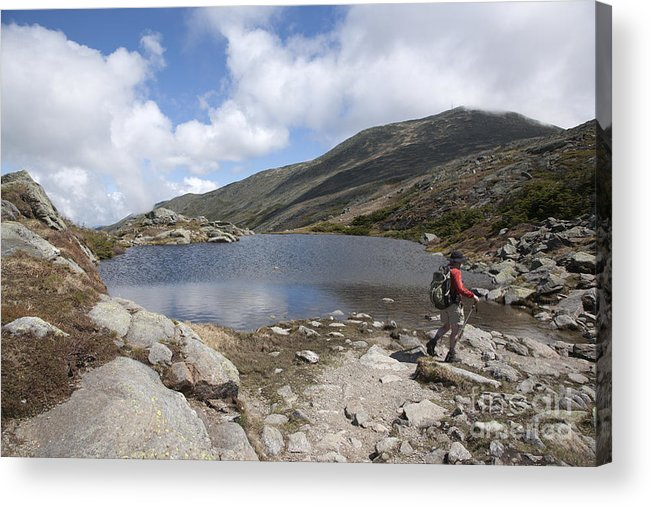 Lake Acrylic Print featuring the photograph Mount Washington - New Hampshire USA Lakes of the Clouds by Erin Paul Donovan