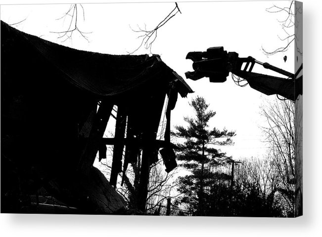 Machine Acrylic Print featuring the photograph Nessie by Jean Macaluso