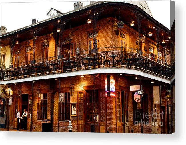 New Orleans Acrylic Print featuring the photograph New Orleans and all that Jazz by Kim Fearheiley