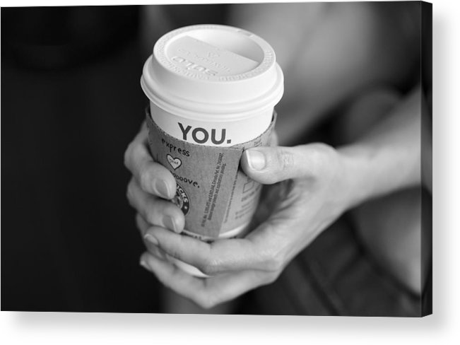Starbucks Acrylic Print featuring the photograph Reflection by Jonathan Ellis Keys