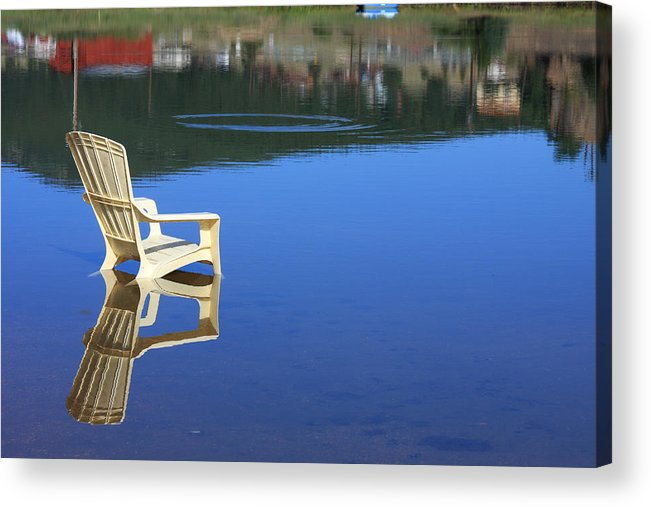 Water Acrylic Print featuring the photograph Reflections Fine Art Photography Print by James BO Insogna