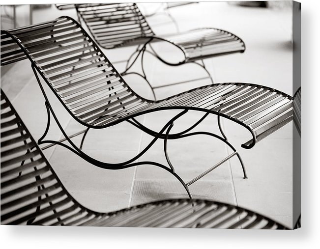 Chair Acrylic Print featuring the photograph Relaxation by Marilyn Hunt