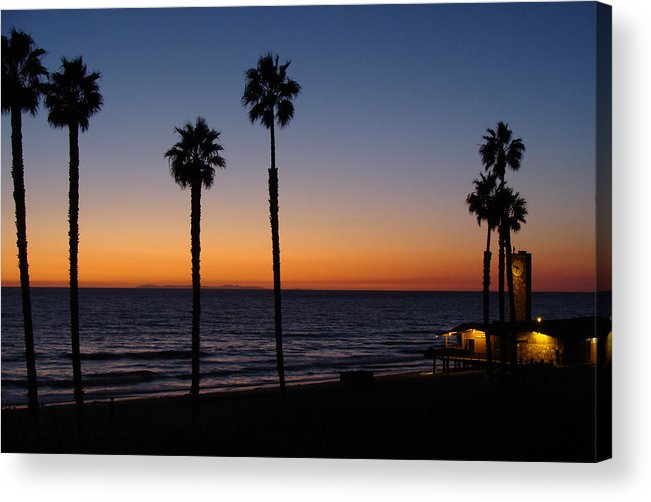 Landscape Acrylic Print featuring the photograph San Clemente Sunset by Ty Nichols