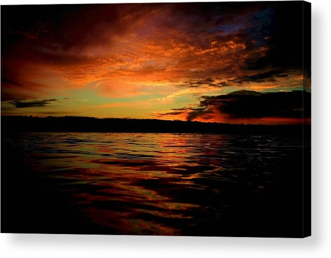 Sunrise Acrylic Print featuring the photograph Secrets by Mitch Cat