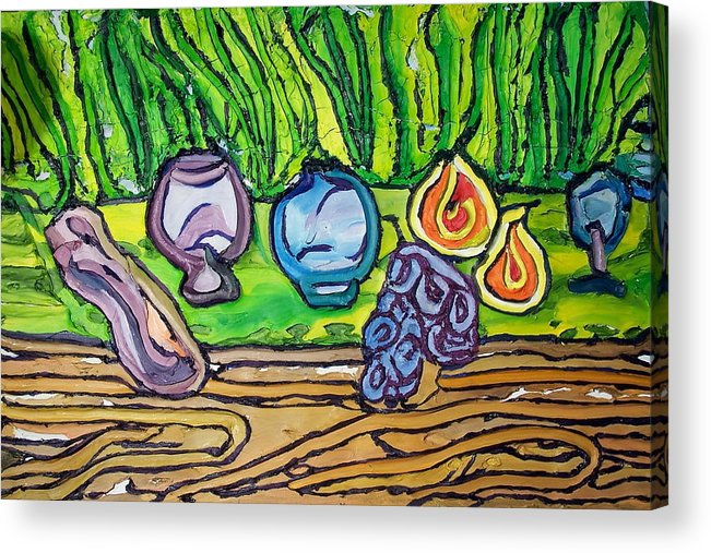 Acrylic Print featuring the painting Still Life 08 by Ira Stark