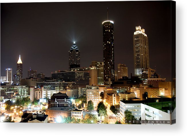 47images Acrylic Print featuring the photograph The Glenview by Jonathan Ellis Keys