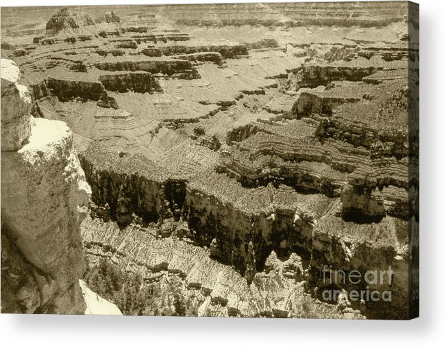 Grand Canyon Acrylic Print featuring the photograph The Grand Canyon by Pete Hellmann