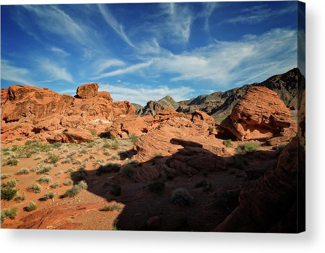 Beehive Acrylic Print featuring the photograph Valley Of Fire XI by Ricky Barnard