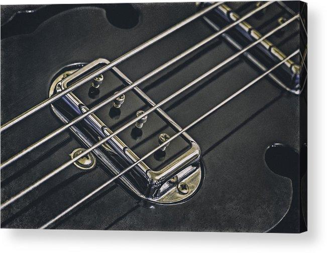 Scott Norris Photography Acrylic Print featuring the photograph Vintage Bass by Scott Norris