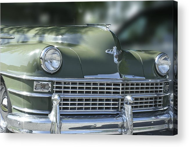 Car Acrylic Print featuring the photograph Vintage Chrysler by Linda A Waterhouse