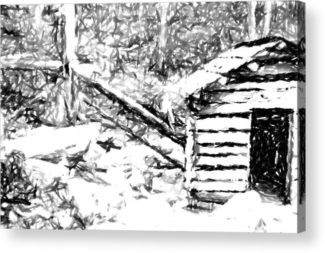 Water Acrylic Print featuring the photograph Water Cabin by Bj Hodges