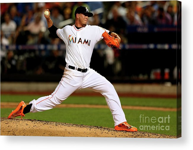 People Acrylic Print featuring the photograph 84th Mlb All-star Game by Mike Ehrmann