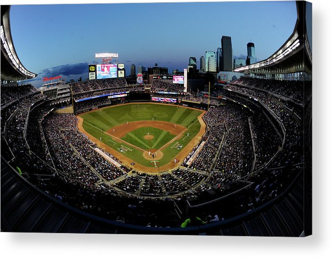 American League Baseball Acrylic Print featuring the photograph 85th Mlb All Star Game by Hannah Foslien