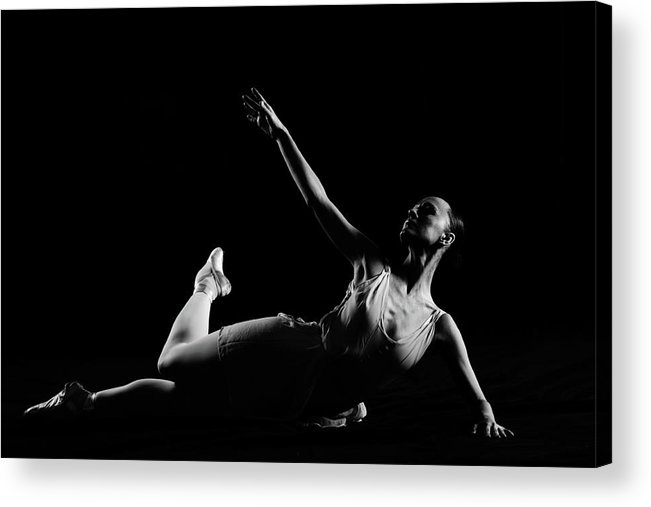 Expertise Acrylic Print featuring the photograph Classical Dancer by Oleg66