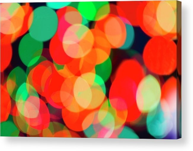 Holiday Acrylic Print featuring the photograph Defocused Lights by Tetra Images