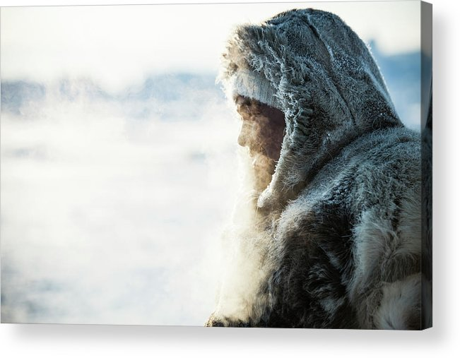 People Acrylic Print featuring the photograph Fisherman by Andre Schoenherr