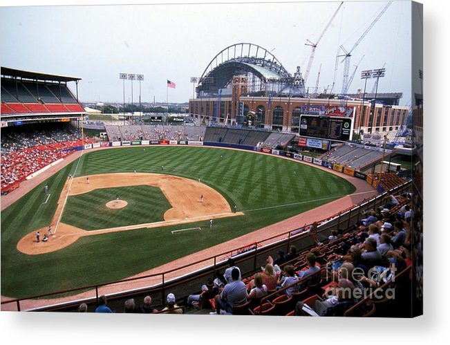 Wisconsin Acrylic Print featuring the photograph General View by Jonathan Daniel