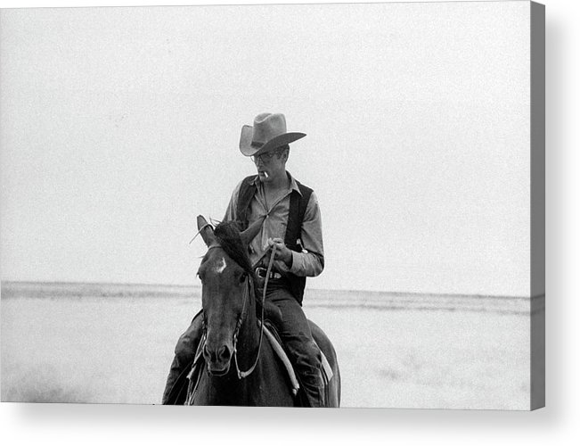 Timeincown Acrylic Print featuring the photograph James Dean by Allan Grant