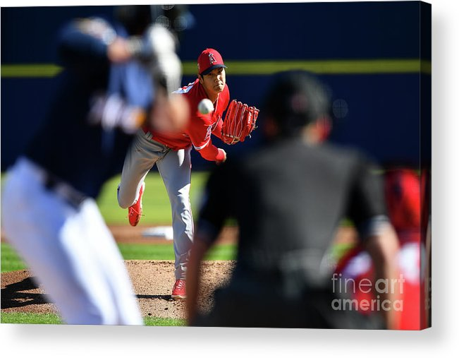 Maryvale Acrylic Print featuring the photograph Los Angeles Angels Spring Training by Masterpress