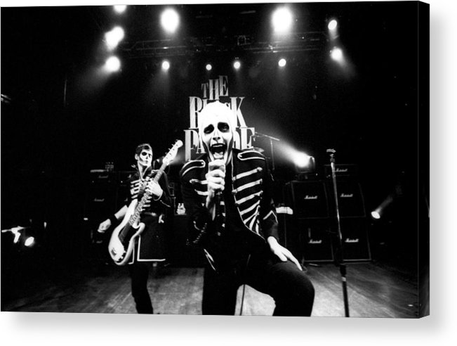 Music Acrylic Print featuring the photograph Photo Of My Chemical Romance by Stephen Albanese