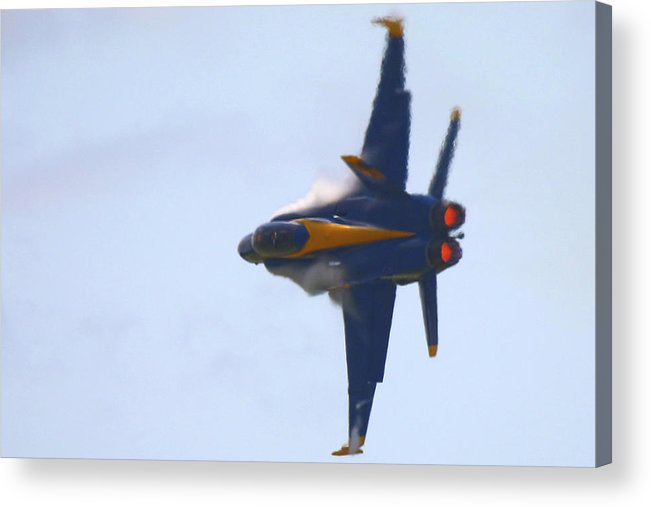 F-18 Acrylic Print featuring the photograph Turn And Burn by Mitch Cat