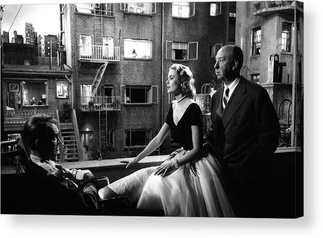 Jimmy Stewart Acrylic Print featuring the photograph Rear Window by Michael Ochs Archives