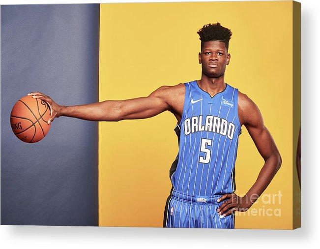 Nba Pro Basketball Acrylic Print featuring the photograph 2018 Nba Rookie Photo Shoot by Jennifer Pottheiser