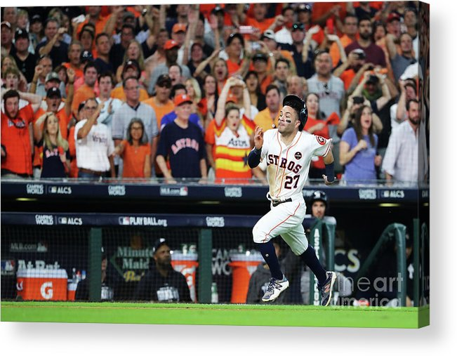 Game Two Acrylic Print featuring the photograph League Championship Series - New York by Elsa