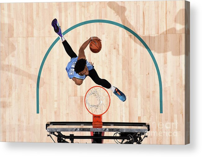 Nba Pro Basketball Acrylic Print featuring the photograph 2019 Mtn Dew Ice Rising Stars by Andrew D. Bernstein